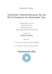 PDF 3.360kB - Hochschule Ulm