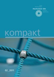 PDF 18.612kB - Hochschule Ulm
