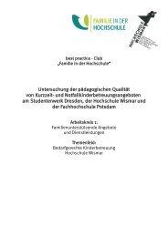 Untersuchung pädagogische Qualität von ...