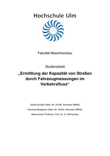 PDF 2.165kB - Hochschule Ulm