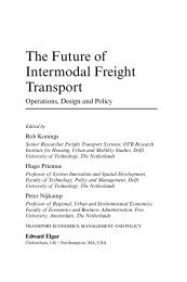 The Future of Intermodal Freight Transport