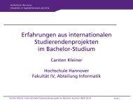 Folie 1 - Hochschule Wismar