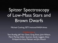 Spitzer spectroscopy of Low-Mass Stars and Brown Dwarfs