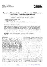 Detection of X-ray emission from $\ beta $ Pictoris with XMM-Newton ...
