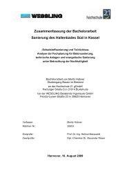 Sanierung des Hallenbades Süd in Kassel - Hochschule 21
