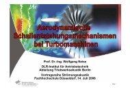 Prof. Dr.-Ing. Wolfgang Neise DLR-Institut für Antriebstechnik ...