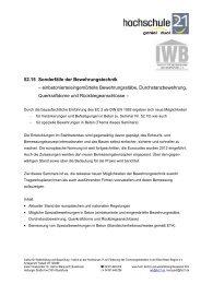 52.15 Sonderfälle der Bewehrungstechnik ... - Hochschule 21