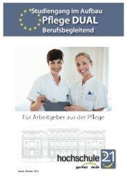 Factsheets für Partnerunternehmen im ... - Hochschule 21