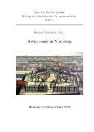 Astronomie in Nürnberg - Hamburger Sternwarte - Universität ...