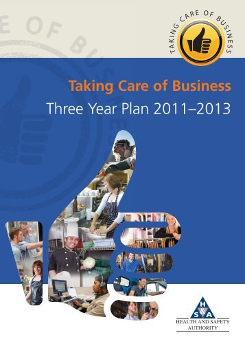 Three Year Plan 2011–2013 - Health and Safety Authority