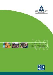 Summary of Workplace Injury, Illness and Fatality Statistics 2007-2008