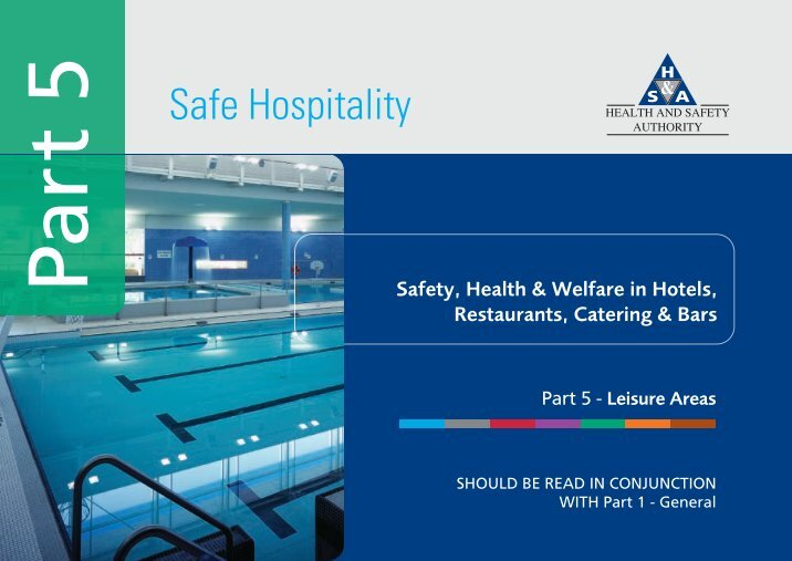 health and safety authority The occupational health and safety act sets out the rights and duties of all parties in the workplace employees and employers in ontario workplaces--its main purpose is to protect workers against health and safety hazards on the job.