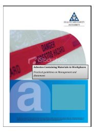 Asbestos Containing Materials in Workplaces Practical guidelines ...