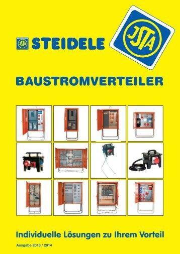PDF Katalog - Steidele Stromverteiler