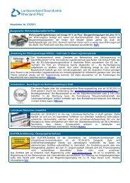 Newsletter Nr. 23/2013 - Landesverband Bauindustrie Rheinland Pfalz