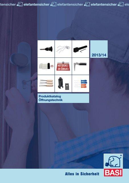 Produktkatalog Öffnungstechnik 2013/14 - BASI