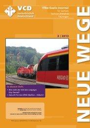 Elbe-Saale-Journal 3 | 2013 - VCD Landesverband Elbe-Saale