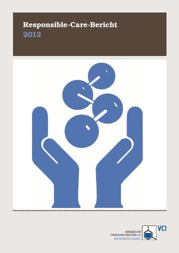 Responsible-Care-Bericht 2012 - Econsense