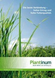 Plantinum Broschüre - AGRAVIS Raiffeisen AG