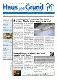 Ausgabe 12/13, PDF, 2.9 MB - Haus und Grund Düsseldorf