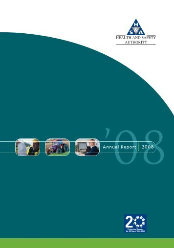 annual report 2008.pdf - Health and Safety Authority