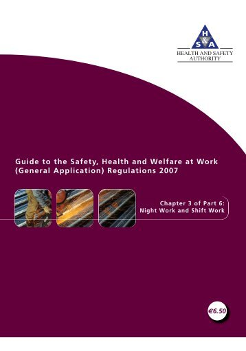 Chapter 3 of Part 6: Night Work and Shift Work - Health and Safety ...