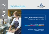 Part 2 Safe Hospitality - Health and Safety Authority