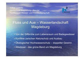 Fluss und Aue - Hochschule Magdeburg-Stendal