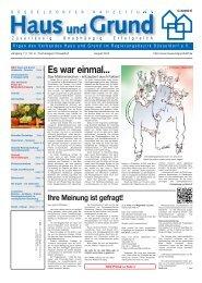 Ausgabe 08/13, PDF, 3.7 MB - Haus und Grund Düsseldorf