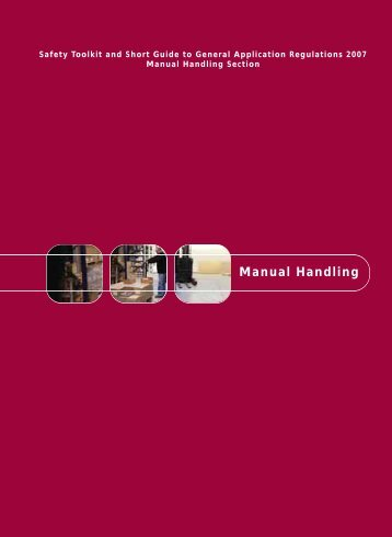 Manual Handling - Health and Safety Authority