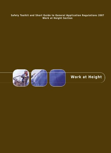 Work at Height - Health and Safety Authority