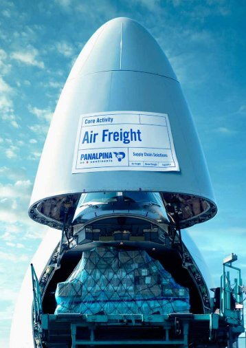 Air Freight [pdf | 1 MB] - Panalpina