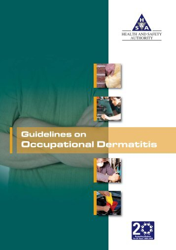 Guidelines on Occupational Dermatitis - Health and Safety Authority