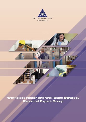 Workplace Health and Well-Being Strategy Report of Expert Group