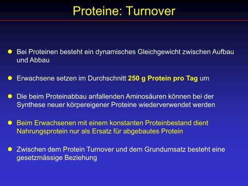 Proteine - Ever.ch