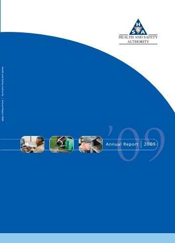 annual report 2009.pdf - Health and Safety Authority