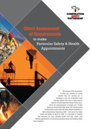 Client Assessment of Requirements - Garland Consultancy
