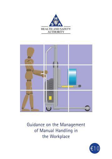 hse manual handling risk assessment