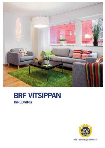 Inredningsbroschyr Brf Vitsippan - HSB