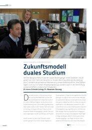 Zukunftsmodell duales Studium - HSBA Hamburg School of ...