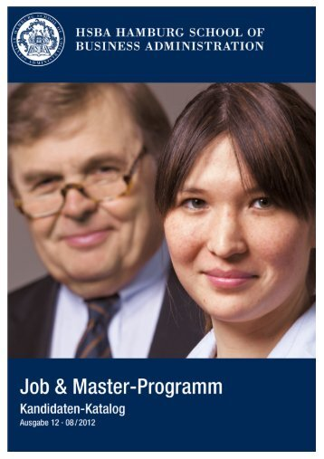 Job & Master-Kandidatenkatalog - HSBA