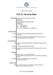 Prof. Dr. Henning Vöpel - HSBA Hamburg School of Business ...