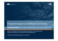 Progredienzangst bei unheilbaren Krankheiten (pdf) - Lindauer ...