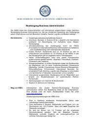 Merkblatt Business Administration PDF (149KB) - HSBA