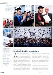 Graduierungsfeier 2012, Artikel HSBA Magazin Nr. 3 PDF
