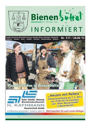 INFORMIERT - Gemeinde Bienenbüttel