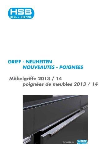 Neuheiten 2013/14 als PDF-Datei downloaden. - HSB Biel-Bienne