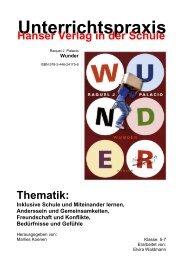 Wunder - Hanser Literaturverlage