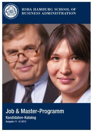 Die Kandidaten - HSBA Hamburg School of Business Administration