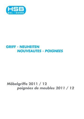 Neuheiten 2011/12 als PDF-Datei downloaden. - HSB Biel-Bienne